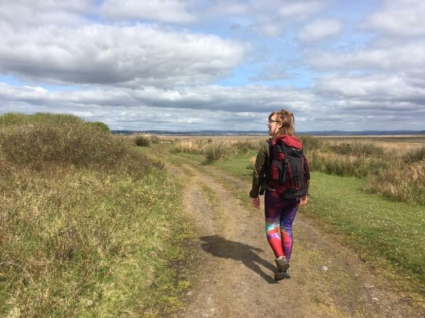 Gower walking
