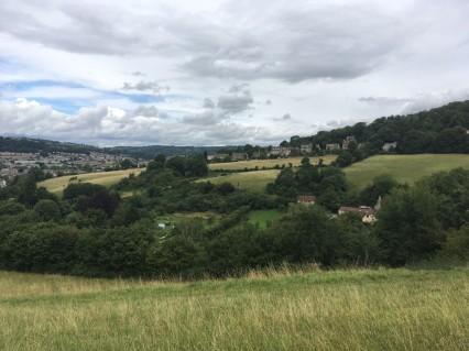 Bath skyline view 3