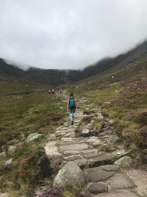 Slieve Donard path